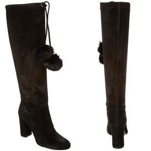 """Michael Kors """"Remi"""" Tall Boots in Black"""